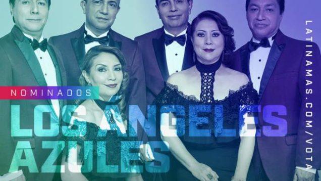 LOS ÁNGELES AZULES NOMINADOS A LOS LATIN AMERICAN MUSIC AWARDS 2019