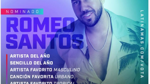 Romeo Santos Nominado Latin American Awards 2019