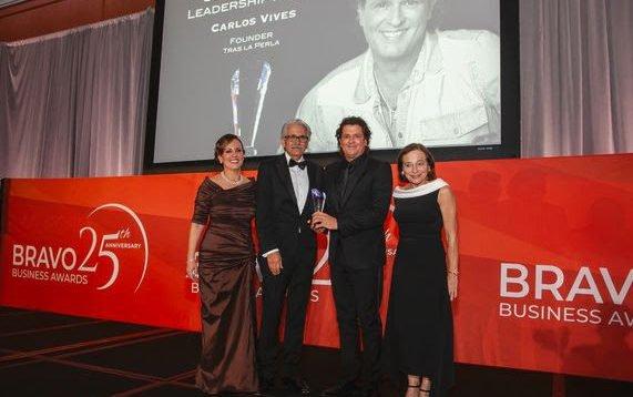 Carlos Vives Premio Bravo