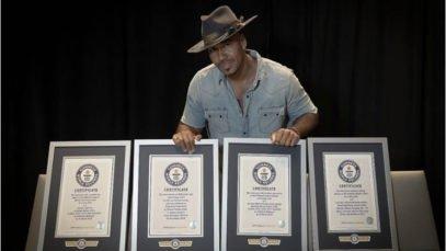 Romeo Santos Records Guinness