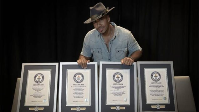Romeo Santos Records Guinness