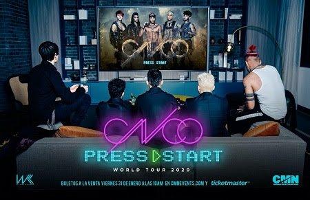 CNCO Press Start Tour