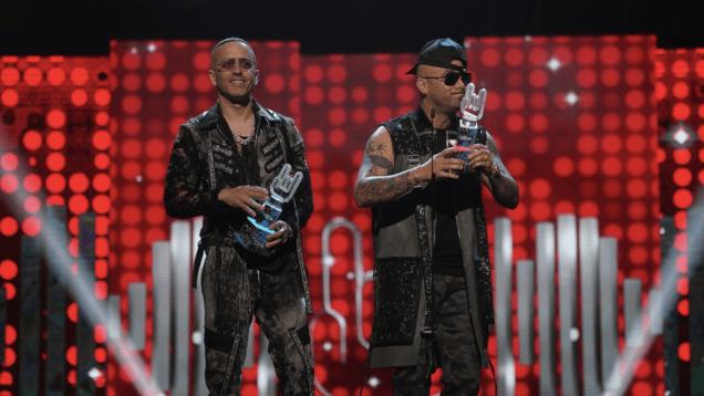 Wisin y Yandel Premios Tu Música Urbano