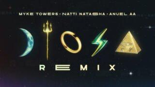 Myke Towers, Natti Natasha y Anuel AA – Diosa Remix