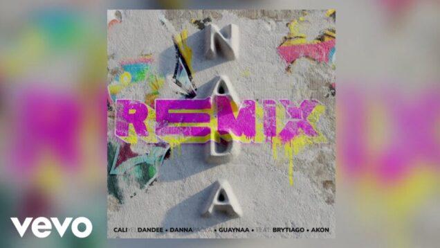 """CALI Y EL DANDEE & DANNA PAOLA PRESENTAN """"NADA REMIX"""", UNIENDO FUERZAS CON AKON, GUAYNAA, Y BRYTIAGO"""