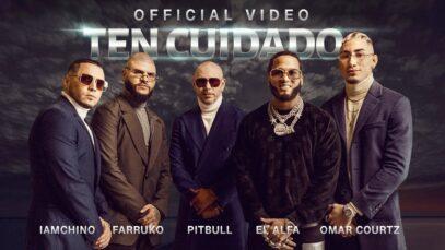 Pitbull Ft. Farruko, IAmChino, El Alfa y Omar Courtz – Ten Cuidado (Official Video)