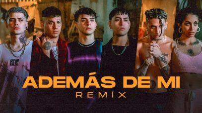 Rusherking, Tiago PZK, KHEA, LIT Killah, Duki, Maria Becerra – Además de Mi [Remix] (Official Video)