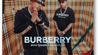 MYKE TOWERS X ÑENGO FLOW – BURBERRY