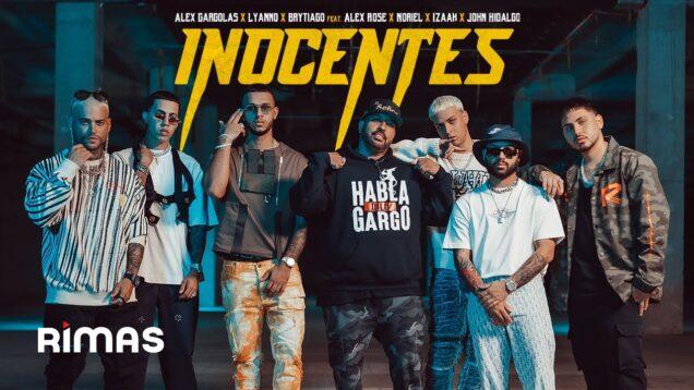 ALEX GÁRGOLAS SE UNE CON LYANNO, BRYTIAGO, NORIEL, ALEX ROSE, IZAAK Y JOHN HIDALGO EN 'INOCENTES'